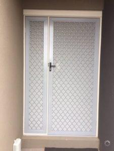 Diamond Door Panel Aluminium