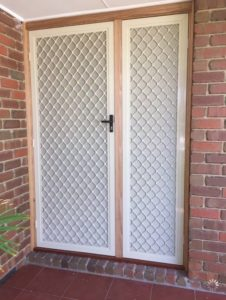 Diamond Door Panel With Dva Mesh